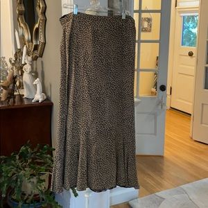 CABI reversible paisley and floral skirt